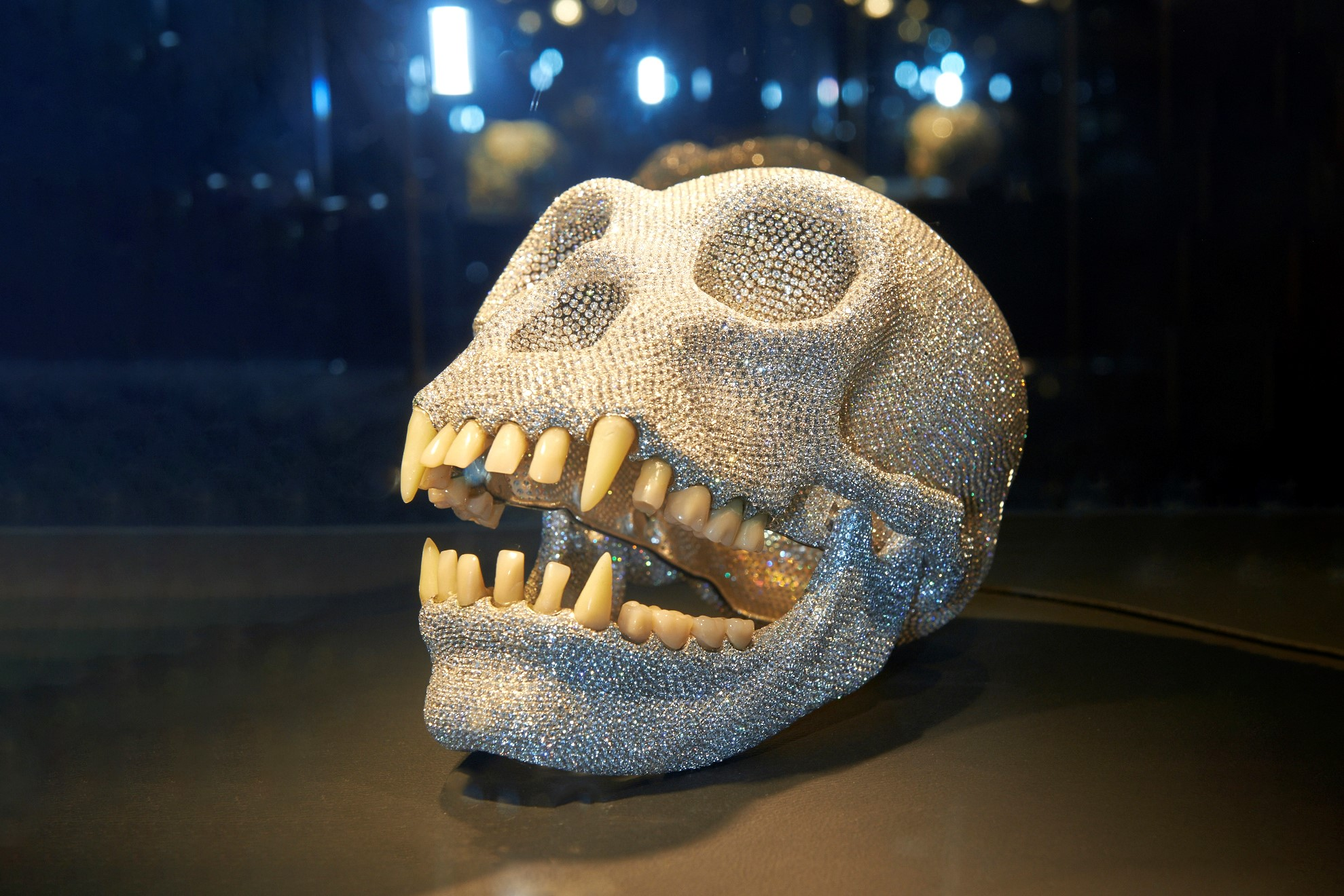 diamond gorilla skull