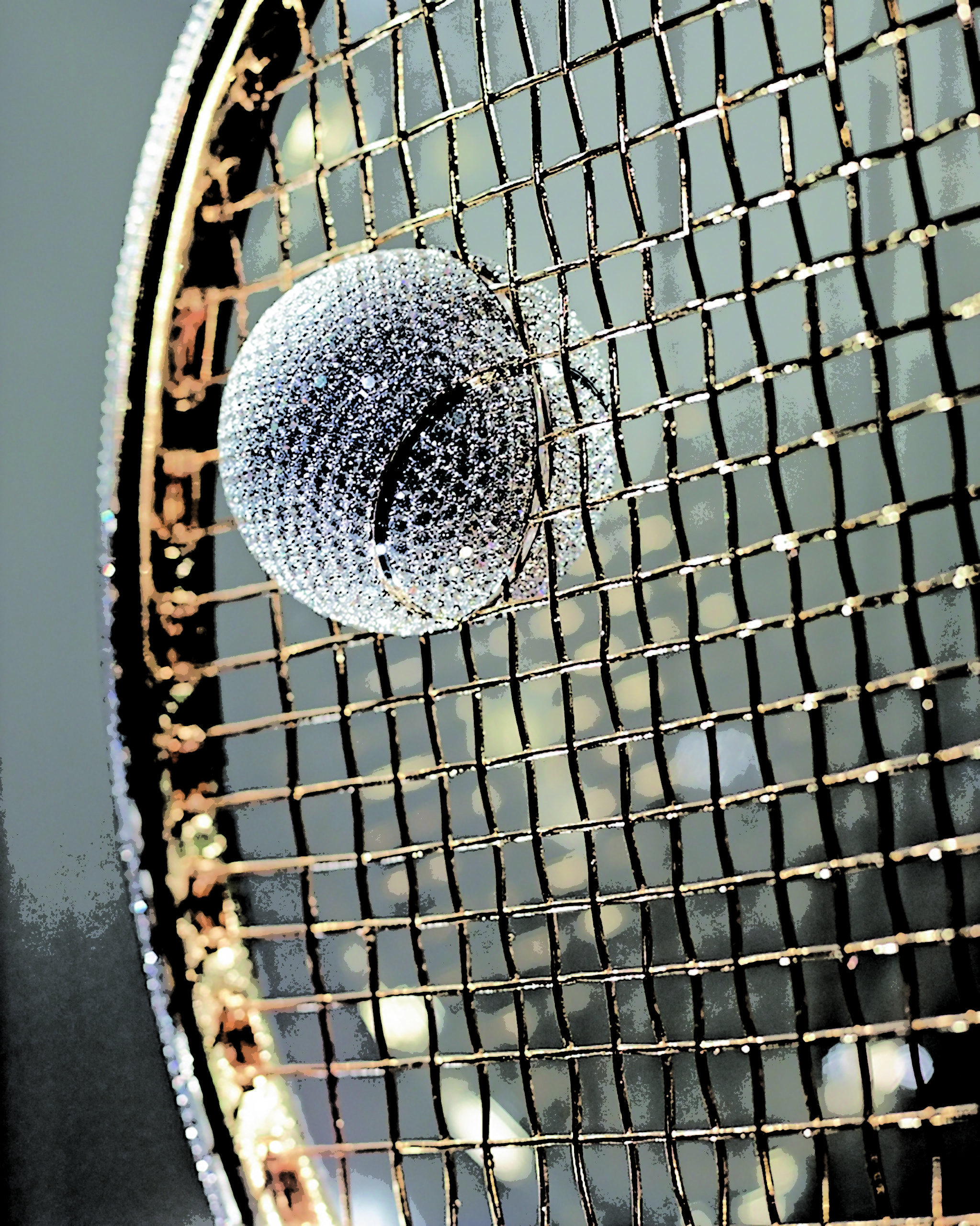 diamond tennis racket